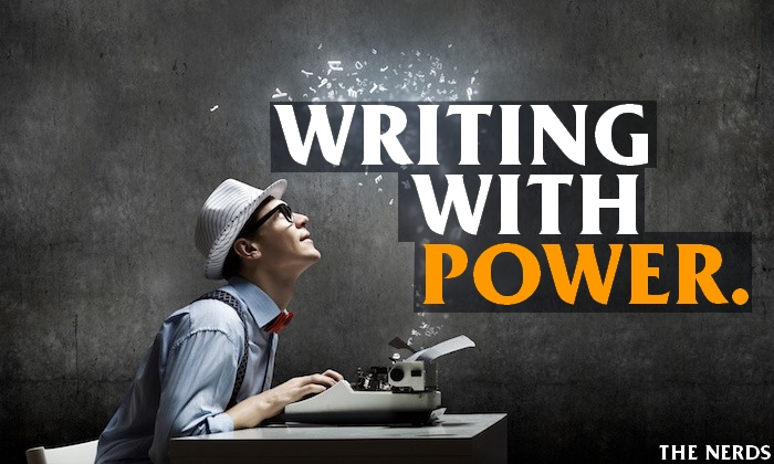 4 Tips to give power to your writing.