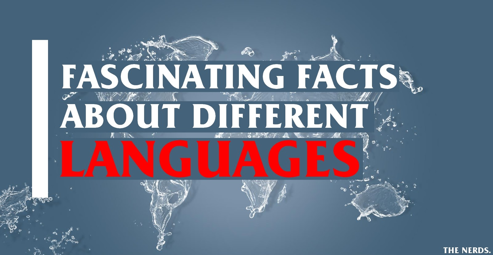 Fascinating facts about the world's languages.