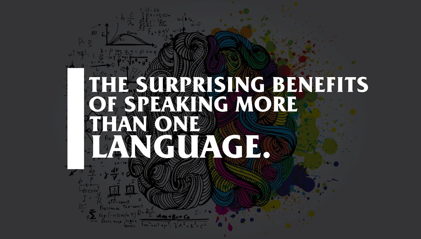 The surprising benefits to being bilingual (infographic).