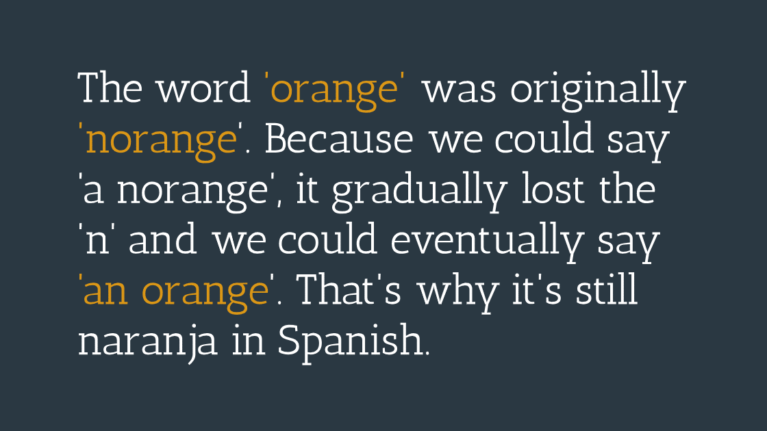 Fun Facts From Different Languages You Didn't Know.