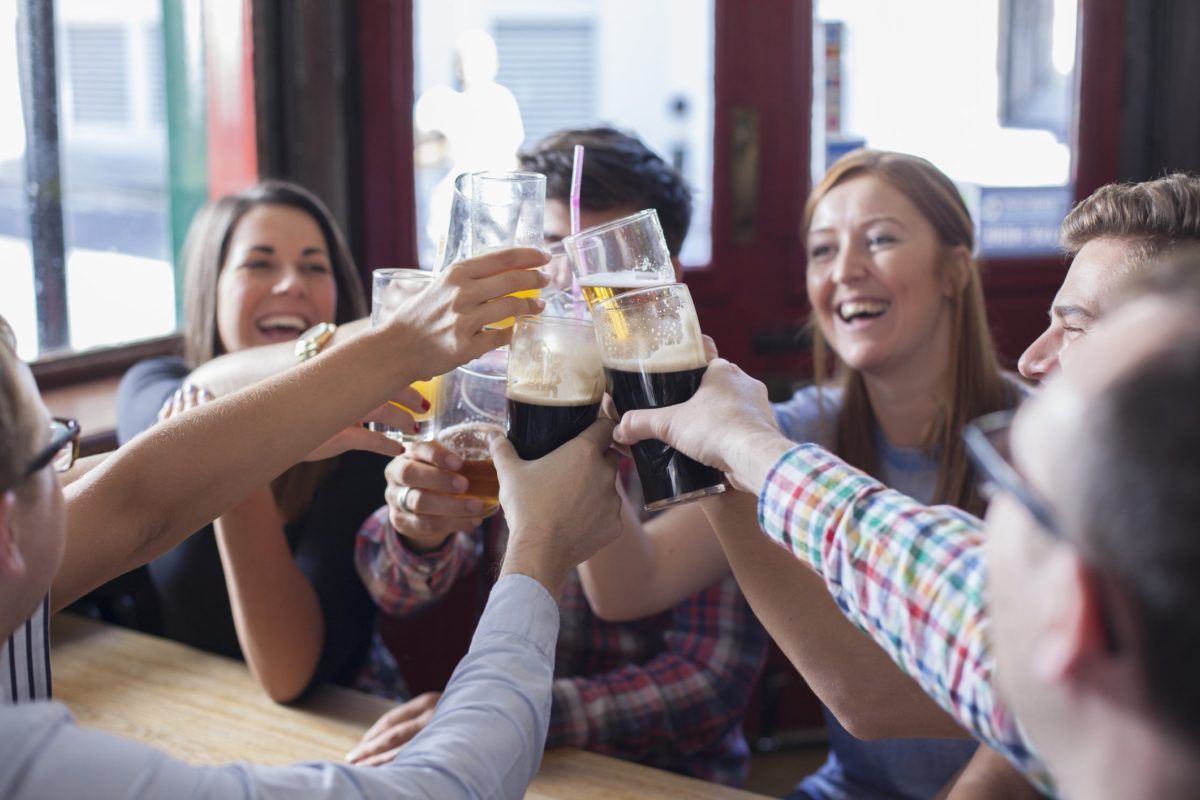 Alcohol helps speak foreign languages better, according to study.