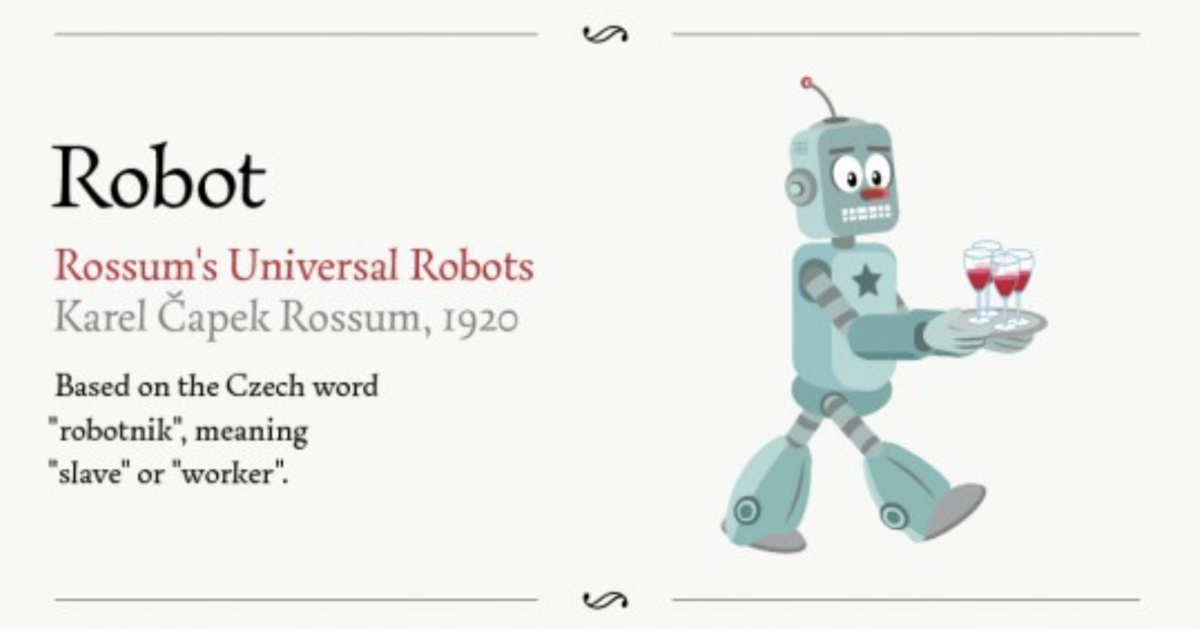 15 Words You Never Knew Came from Literature (Infographic).