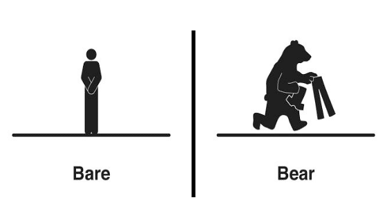 54 Clever Illustrations of Words That Sound The Same But Have Different Meanings.