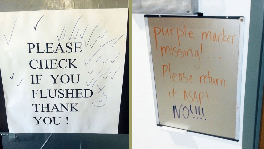 31 People Who Responded To Public Notices And Made it Hilarious.