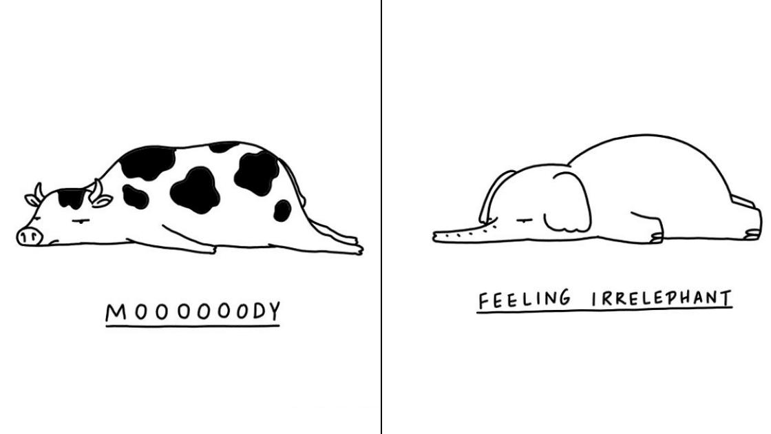 26 Moody Animal Puns To Remind Everyone That It's OK To Be Sad.