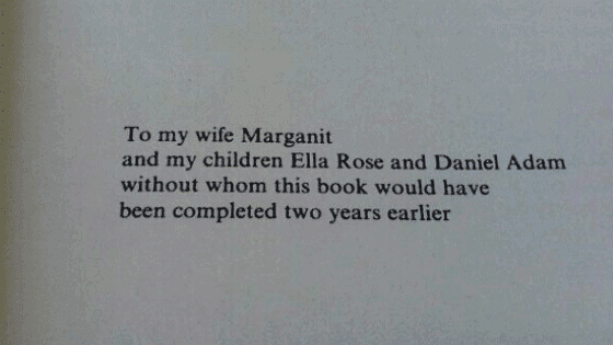 35 Writers Who Took Book Dedications To Another Level.