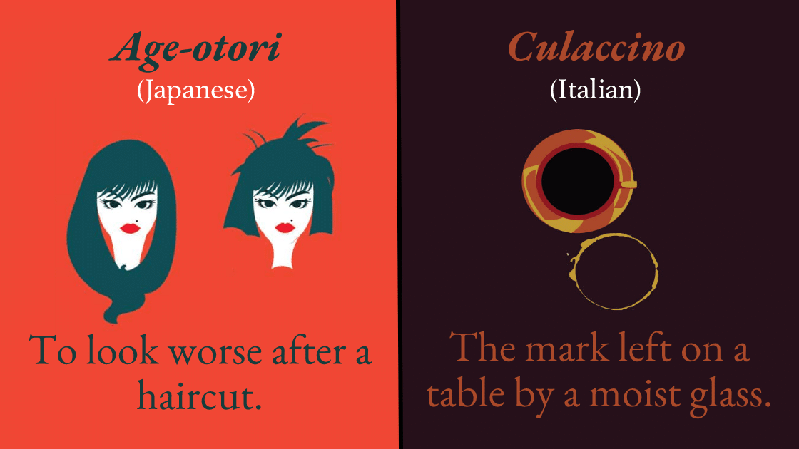 30 Untranslatable Words From Other Languages (Illustrated).